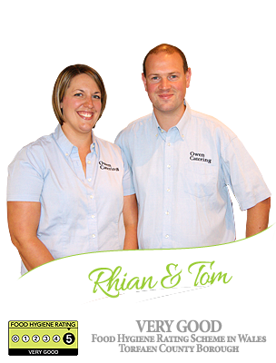 Rhian & Tom Owen - Owen Catering