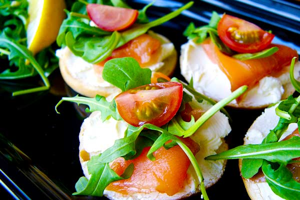 Canapes from Owen Catering